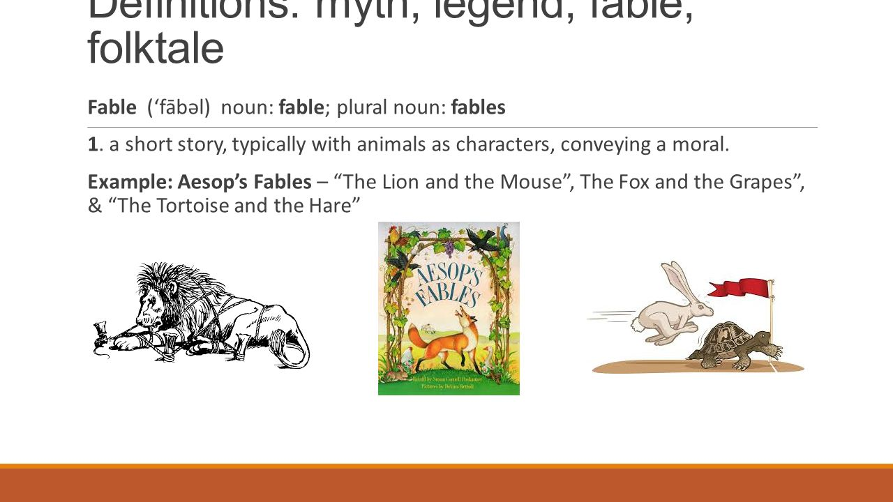 """Myths, Legends, Fables, and Folklore"""" - ppt video online"""
