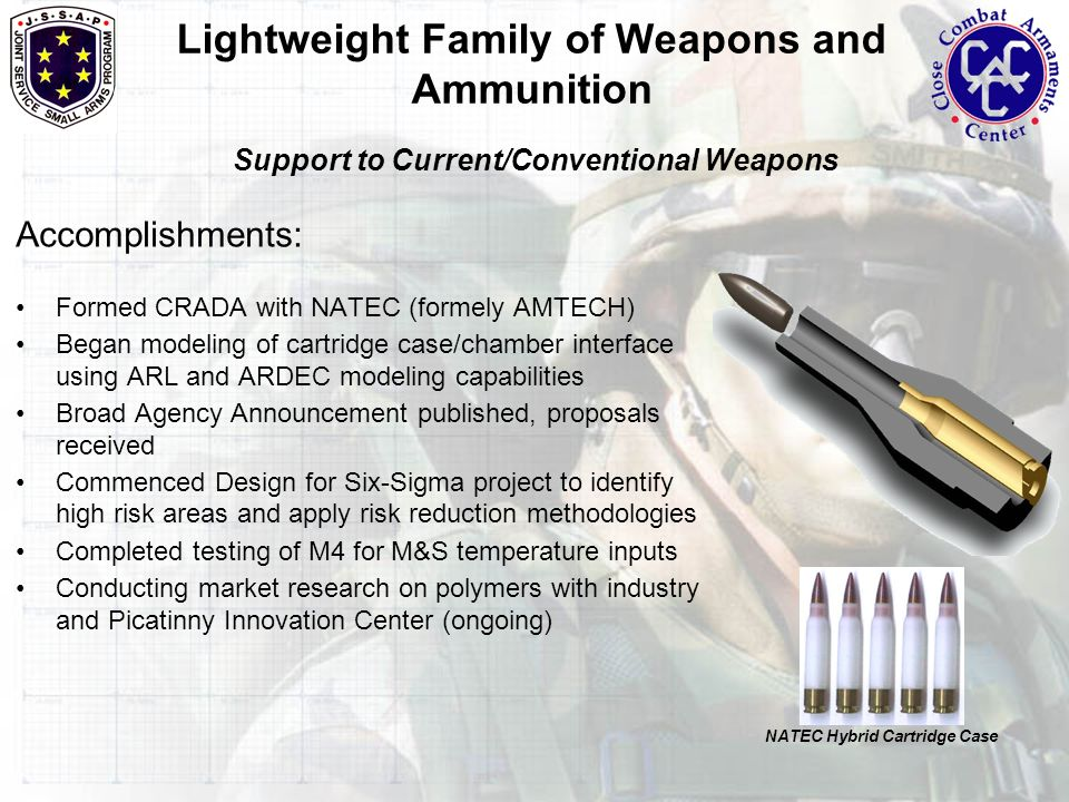 Lightweight Family of Weapons and Ammunition for the - ppt video
