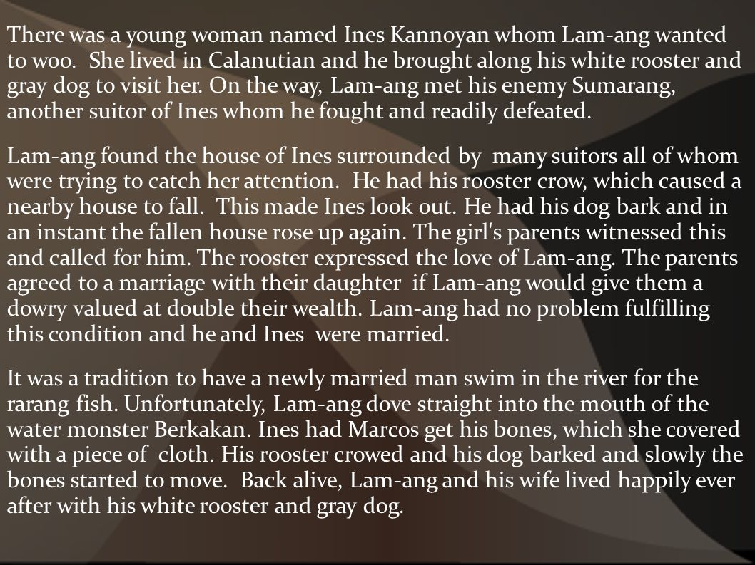 lam ang story tagalog