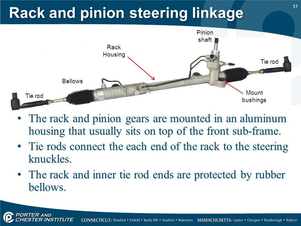 steering gear and linkage ppt download conventional steering system suspensions 101 diagnosing the two