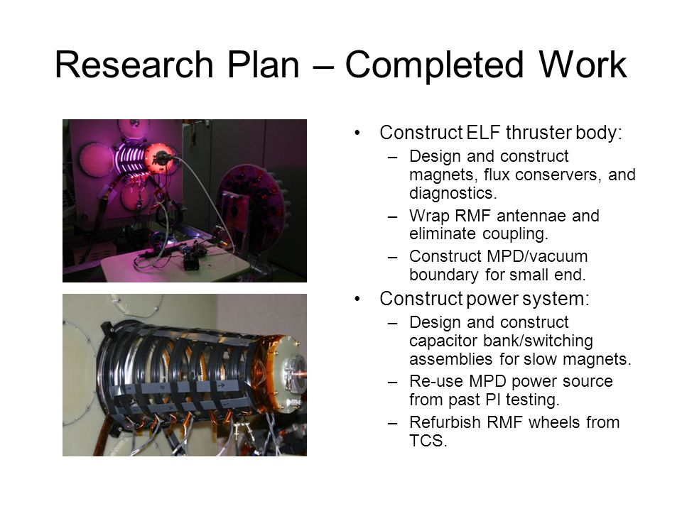 The Electrodeless Lorentz Force (ELF) Thruster - ppt video