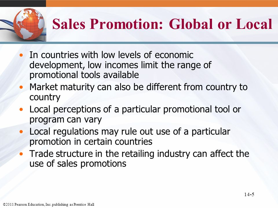Global marketing communications decisions ii sales promotion sales promotion global or local fandeluxe Images
