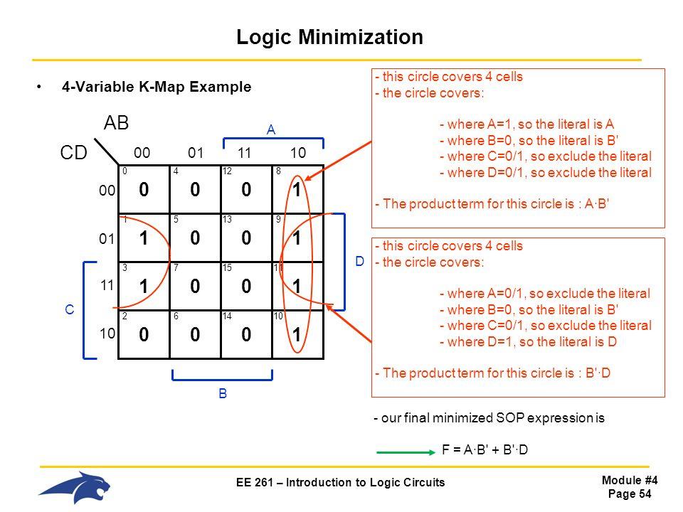 ee 261 introduction to logic circuits ppt download rh slideplayer com Boolean Logic Diagram Process Logic Diagram