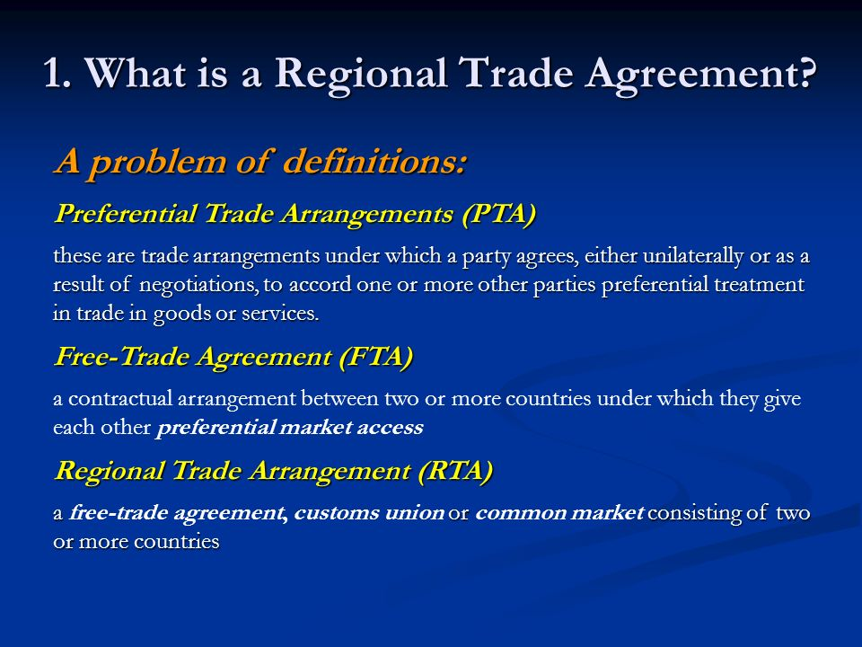 Regional Trade Agreements And The Wto Ppt Video Online Download