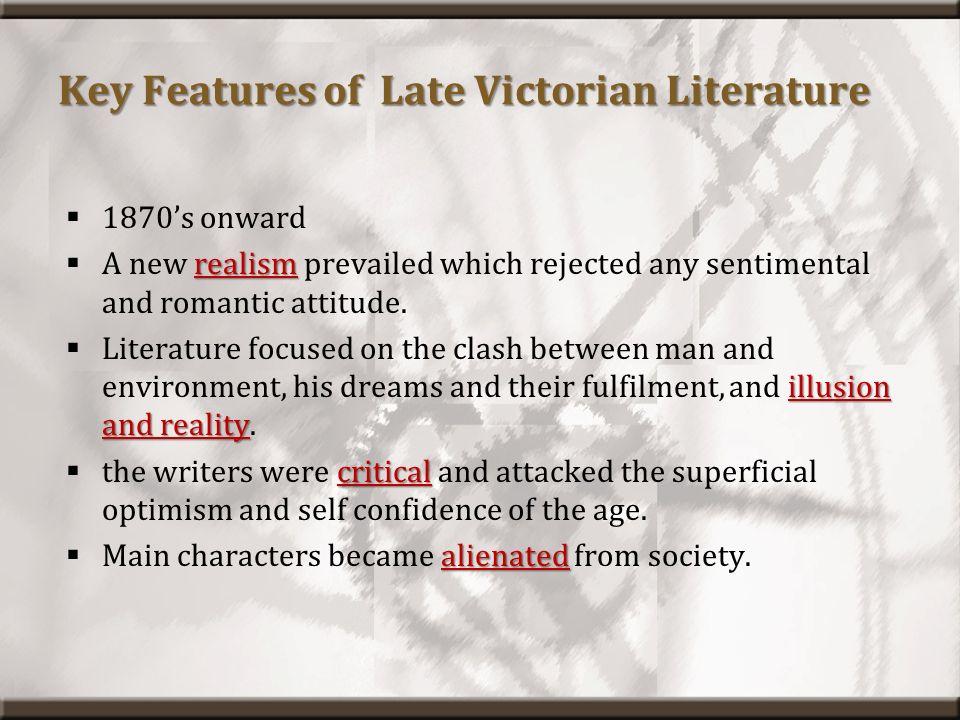 Main Features of Literature