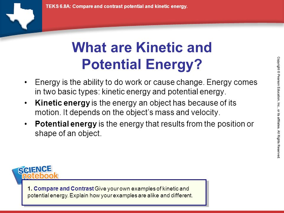 What Are Kinetic And Potential Energy Ppt Download