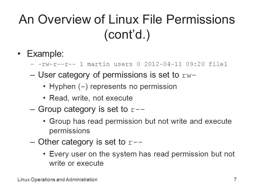 Linux Operations and Administration - ppt video online download