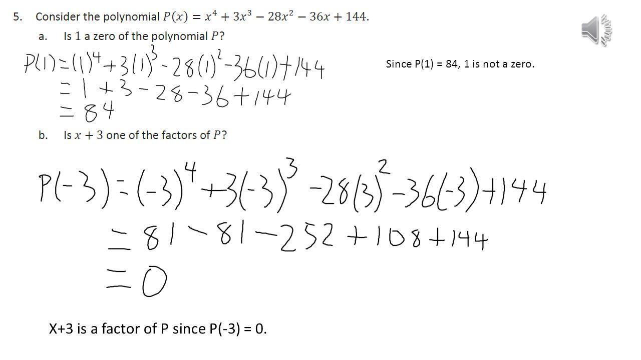 Eureka Math Algebra 2 Module 1 Lesson ppt video online download