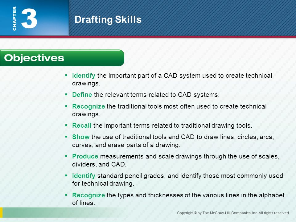 3 Drafting Skills What is the difference between sketching