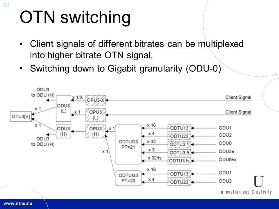 Optical Transport Network (OTN) - ppt video online download