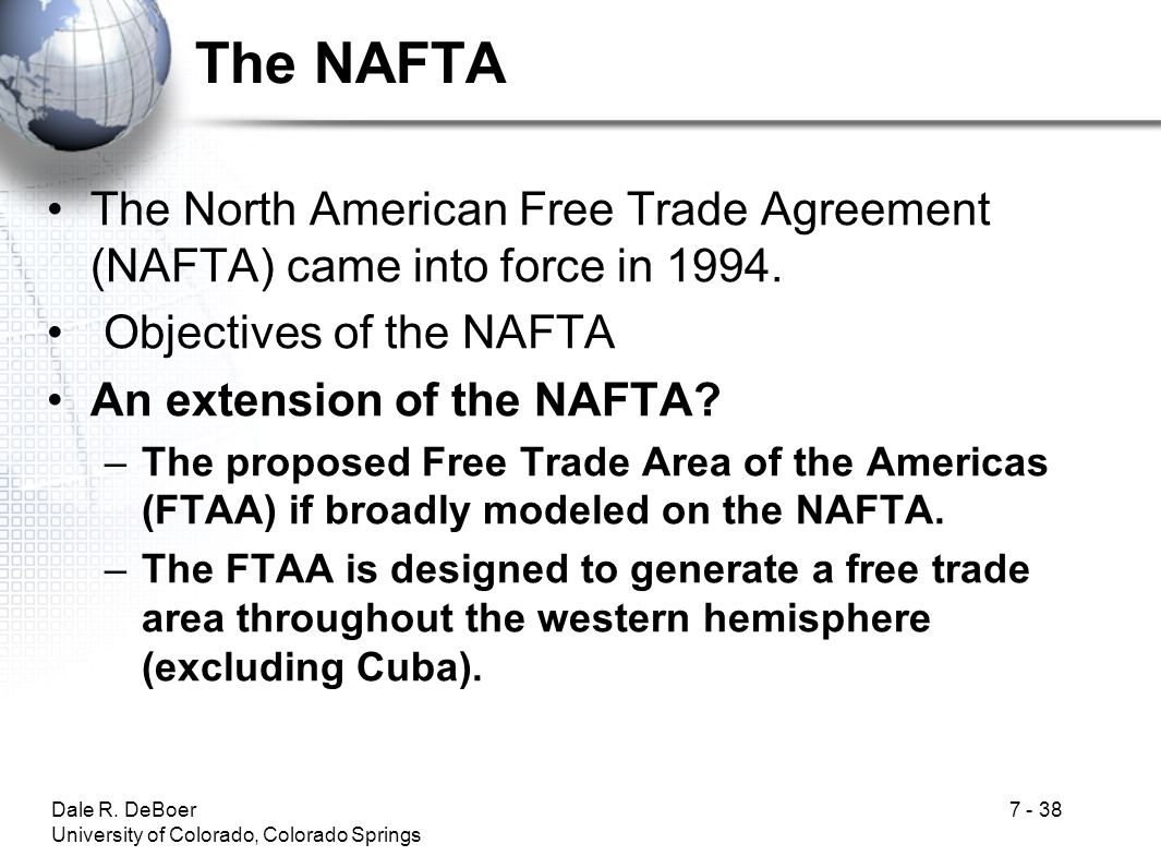 an analysis of the north american free trade agreement and the timber idustry Promoting free, fair and reciprocal trade read the president's trade policy agenda click here for more information on the united states-mexico-canada agreement.
