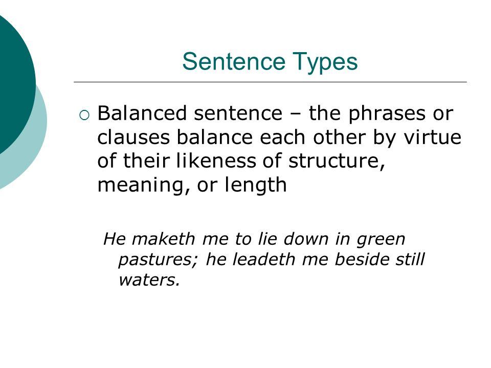 Balanced Sentence Examples Choice Image Example Cover Letter For