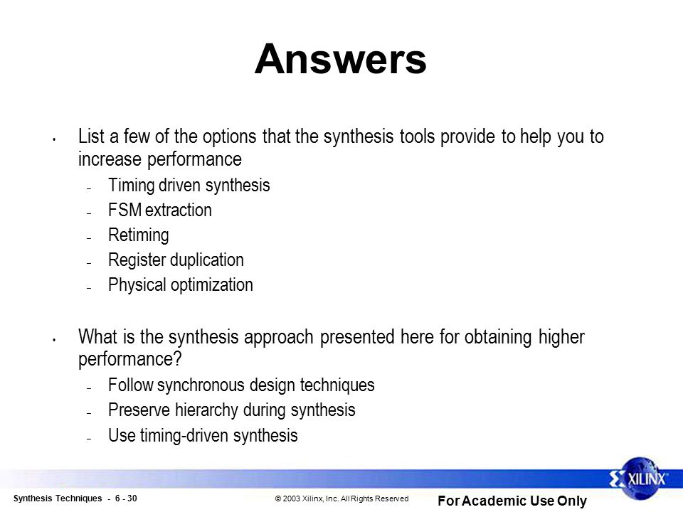 FPGA Design Flow Workshop - ppt download