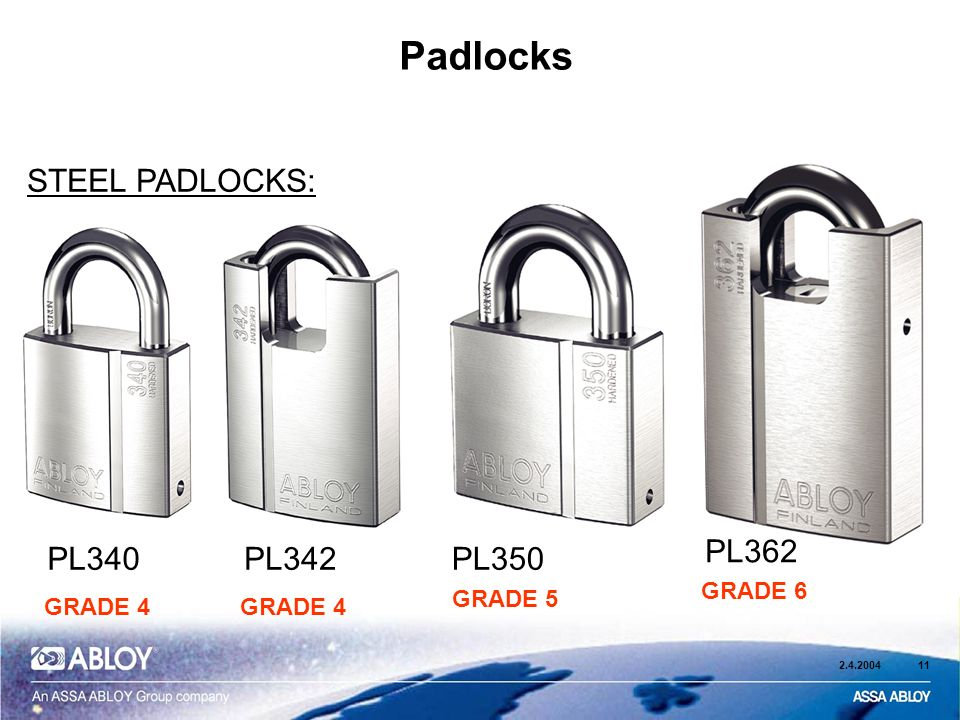 *TOP QUALITY* Abloy Finland 362 Hardened Steel Heavy Duty Padlock PL362 New