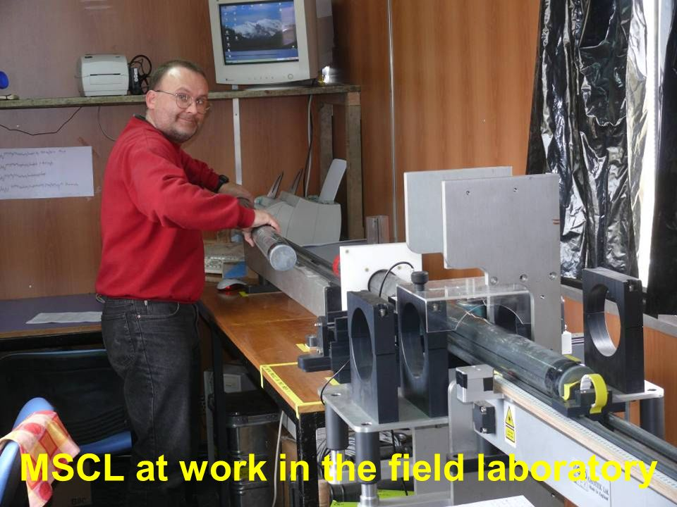 MSCL at work in the field laboratory