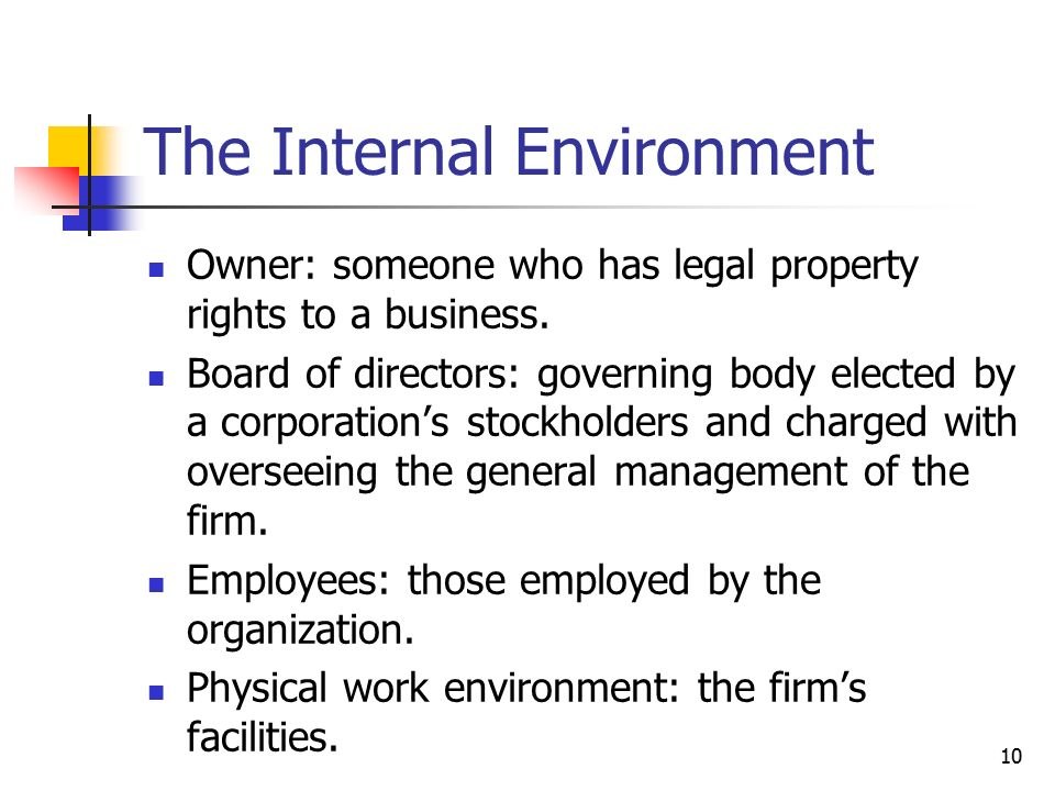 internal environment of mcdonalds