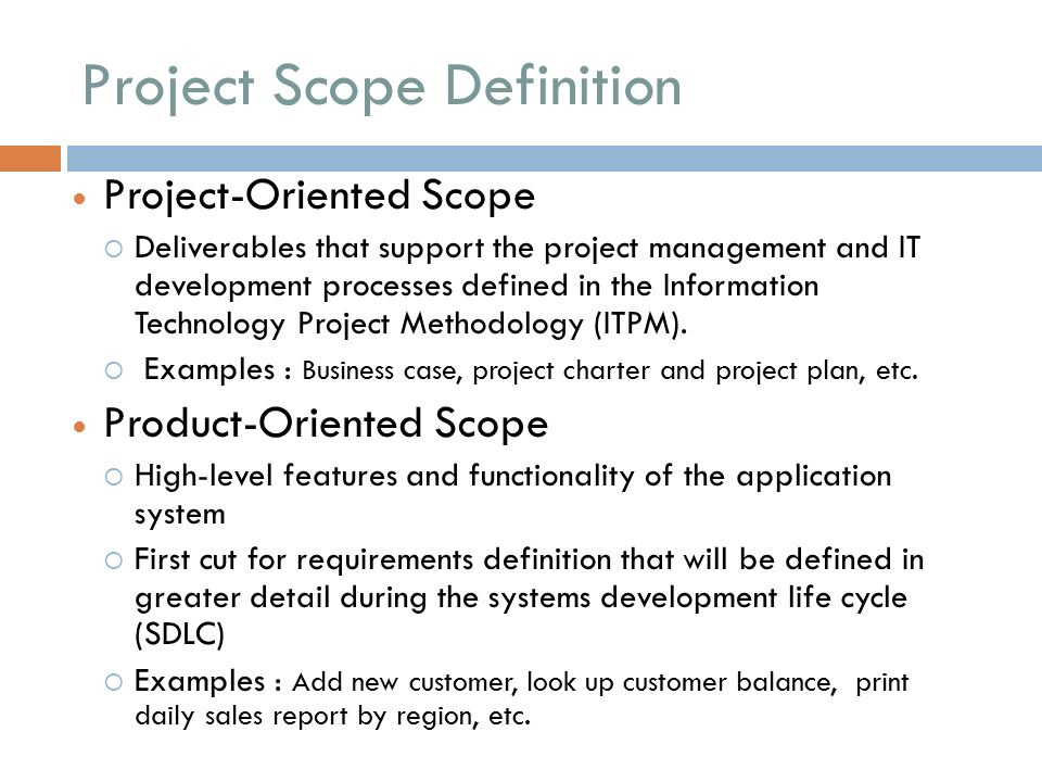 Developing a complete project scope statement in 2 days.
