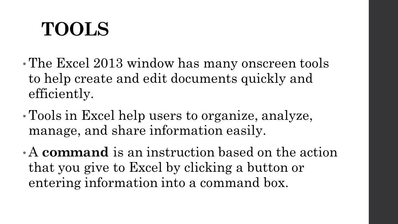 Understanding Excel Lesson ppt video online download
