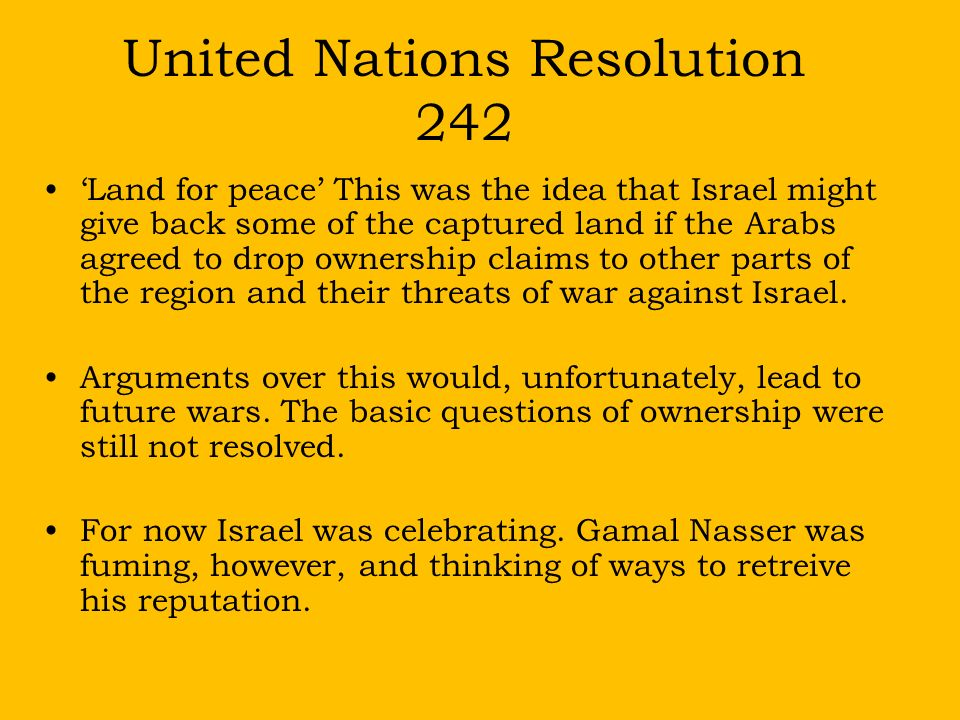Image result for united nations resolution 242