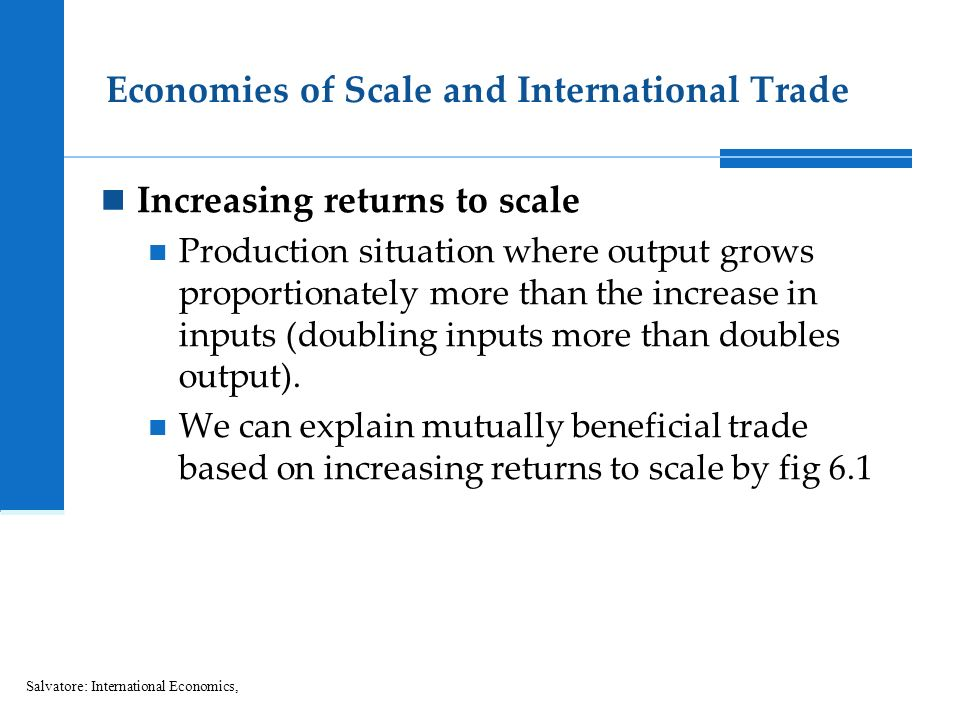 what is return to scale in economics