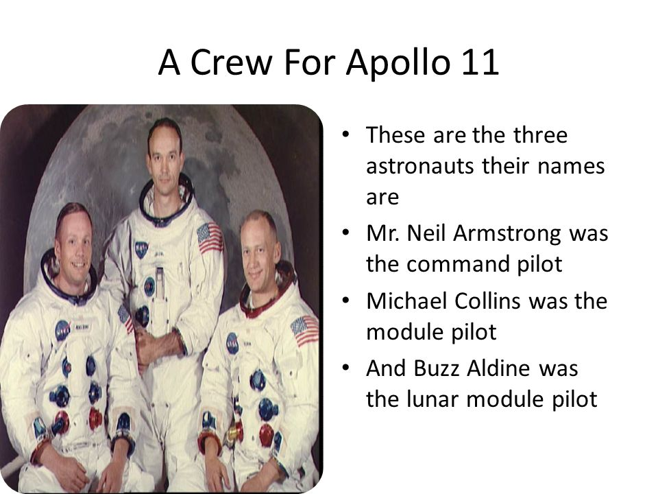 apollo 11 spacecraft names - photo #35