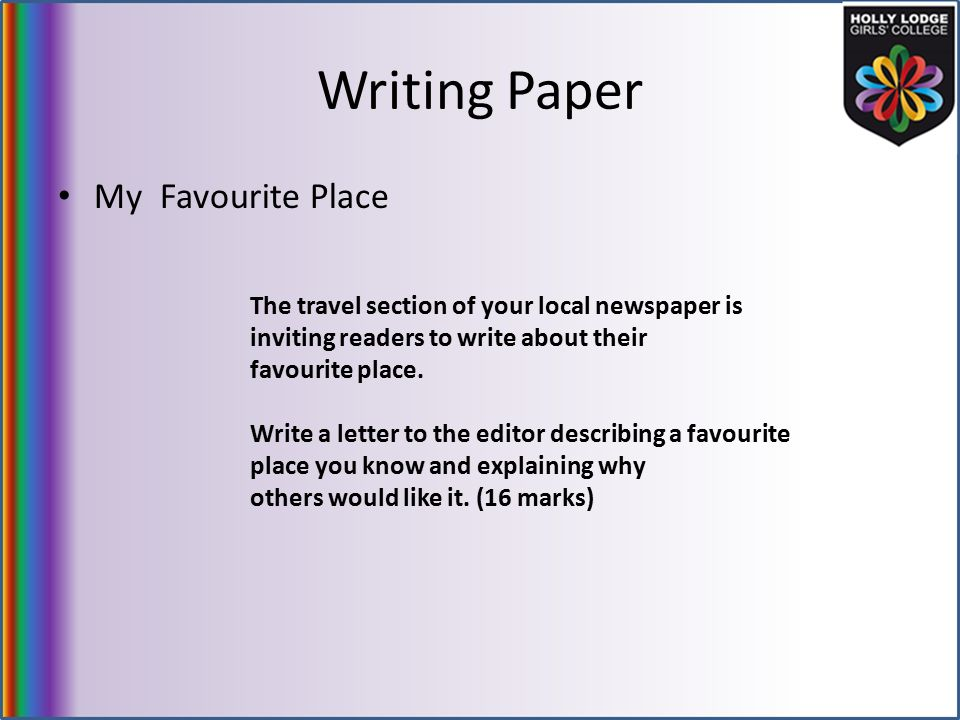 write a letter to newspaper editor to publish article