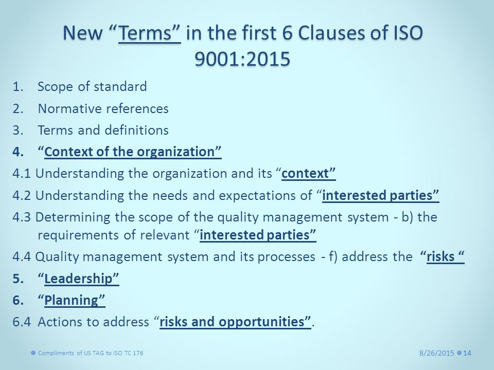 Normative Reference For Iso 9001 Ppt Video Online Download