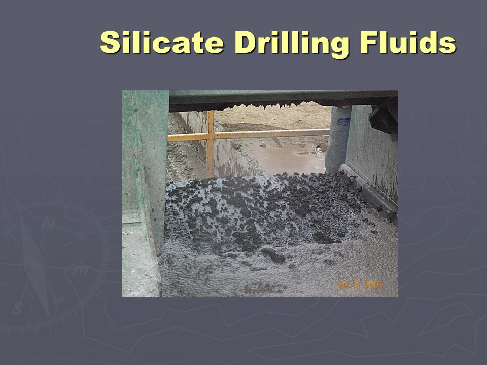 Potassium Silicate Based Drilling Fluids - ppt video online