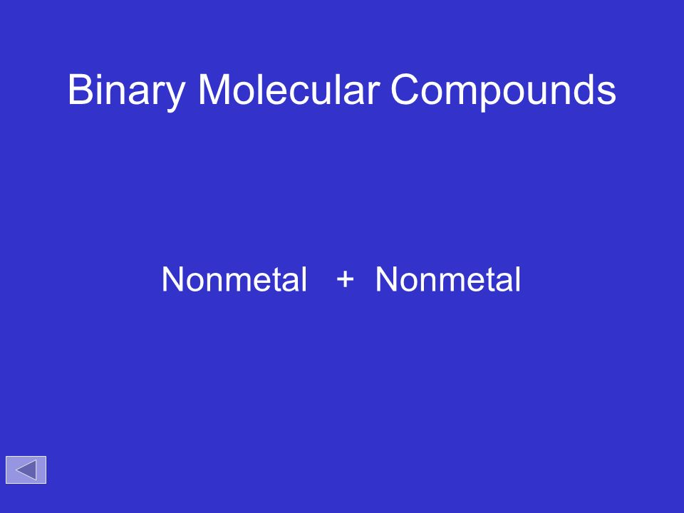 Binary ionic and molecular compounds worksheet a side 1 answers