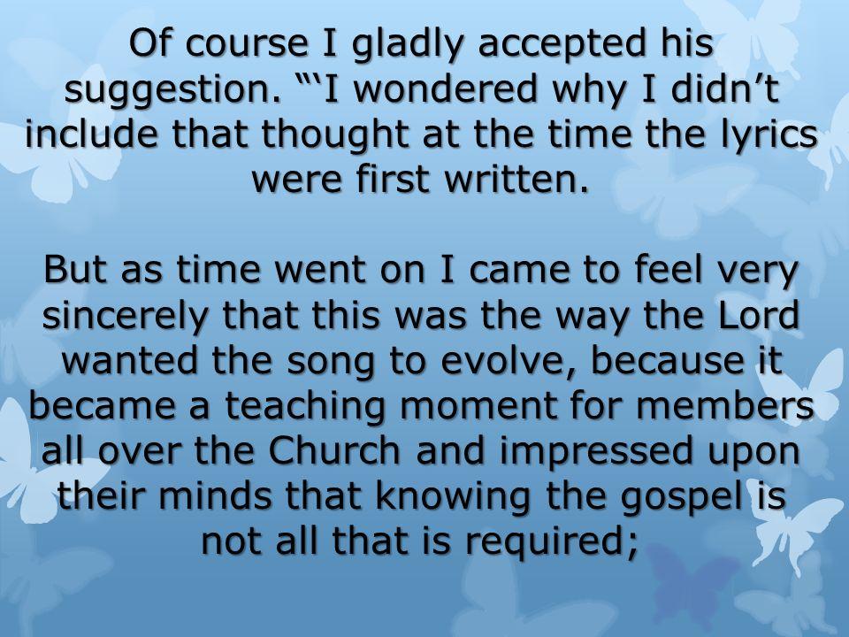 Lyric sincerely lyrics : Lesson 34: Jesus Christ Teaches the Nephites the Beatitudes - ppt ...