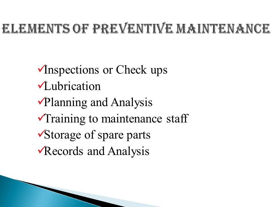 Presentation on Preventive Maintenance - ppt video online