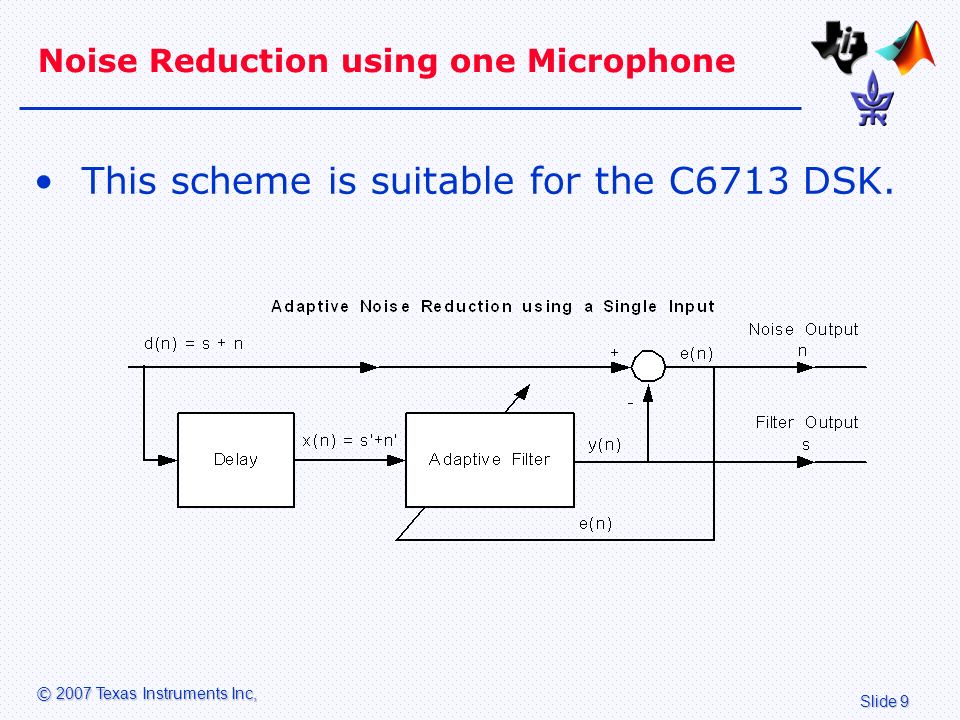 Acoustic Noise Cancellation - ppt video online download