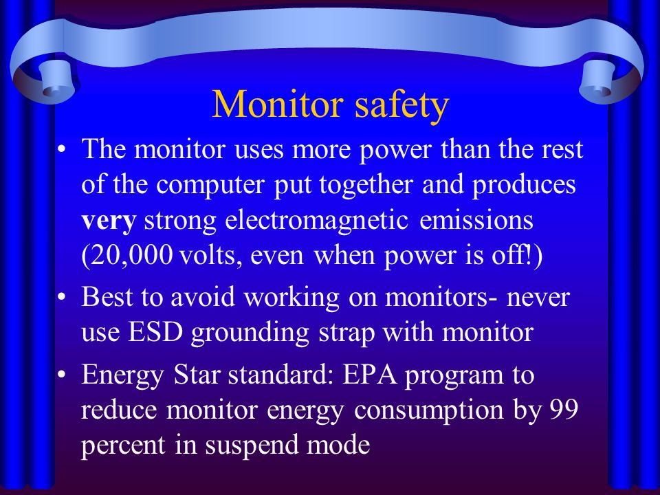 Video Monitor CRT: Cathode Ray Tube - ppt download