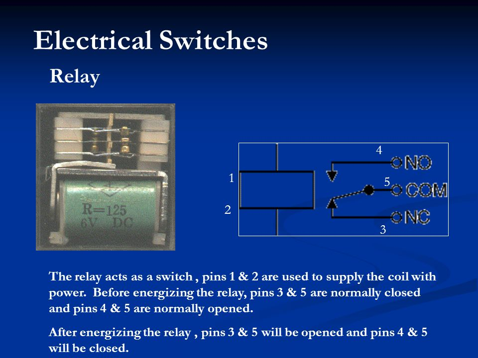 Electrical Control Components - ppt download