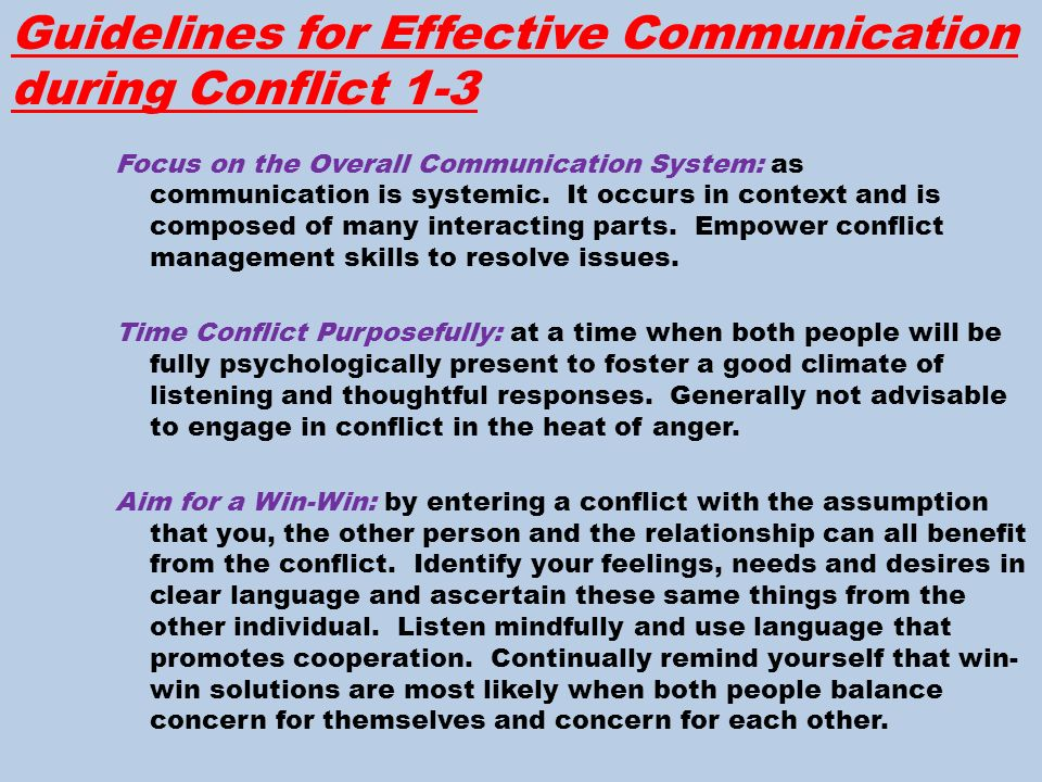 Interpersonal Communication: Everyday Encounters Chapter 9
