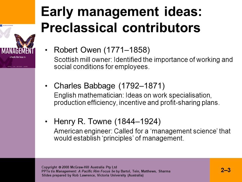 CHAPTER 2 PIONEERING IDEAS IN MANAGEMENT - ppt download