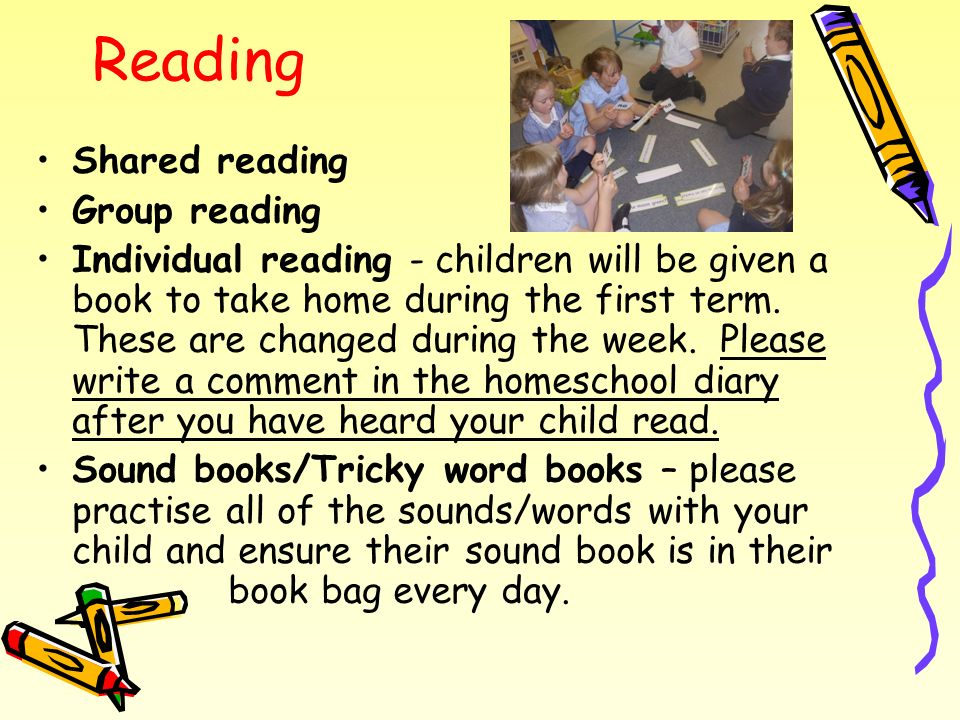 Reading Shared reading Group reading
