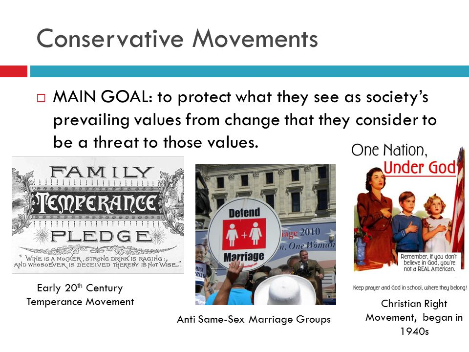 Conservative Movements