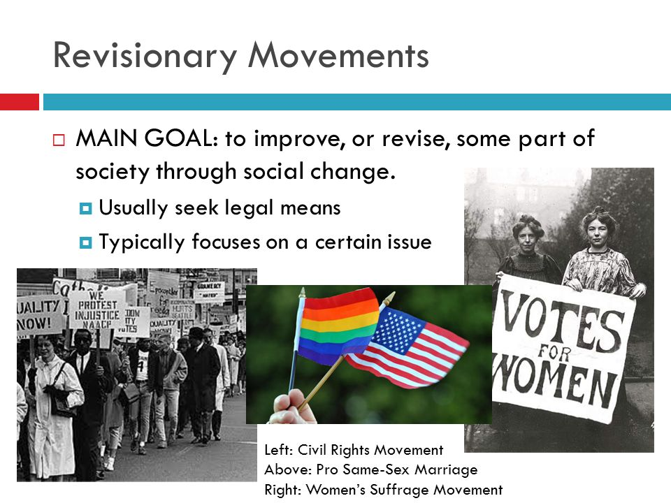 Revisionary Movements