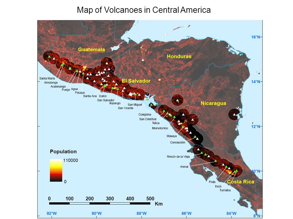 Assessing the Volcanic Threat of Central American Volcanoes - ppt ...