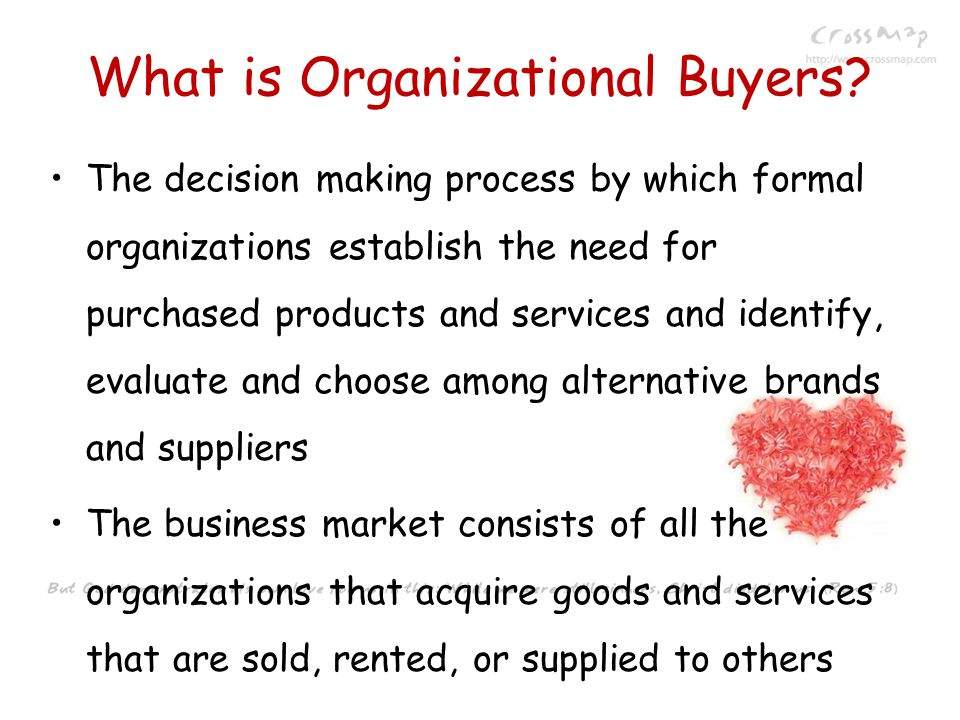 What is Organizational Buyers