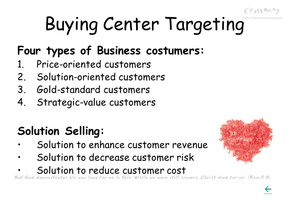 Buying Center Targeting