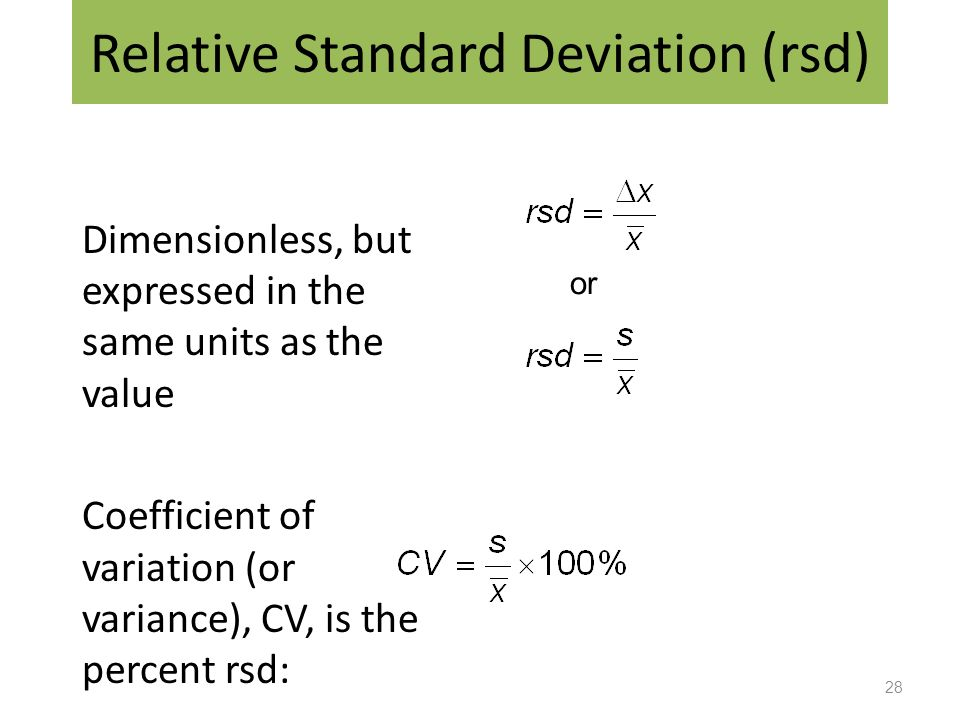 how to find standard deviation in a set of numbers