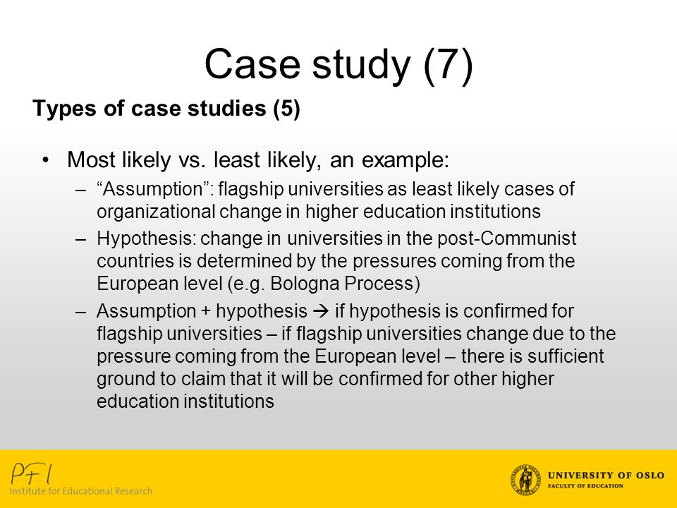assumption hypothesis sample thesis