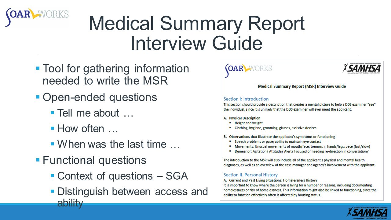 how to write a summary of an interview