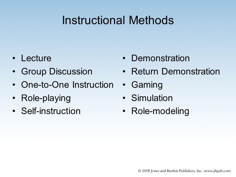 Chapter 11 Instructional Methods Ppt Video Online Download