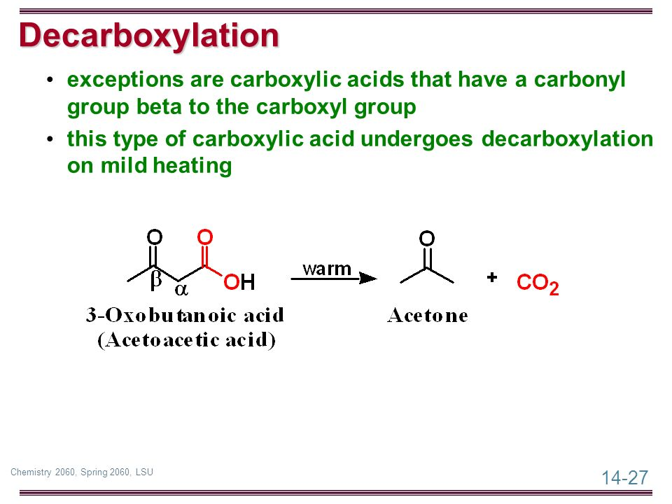 Chapter 14: Carboxylic Acids - ppt video online download