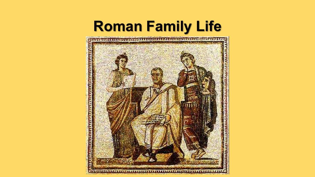 roman empire family life