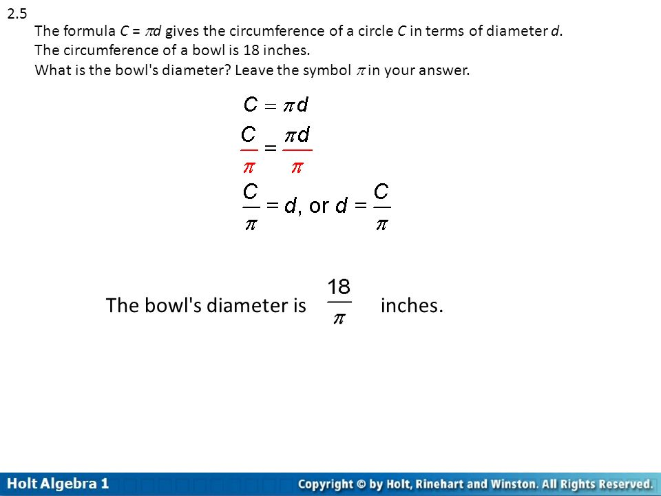 Chapter 2 Equations Algebra I Ppt Download