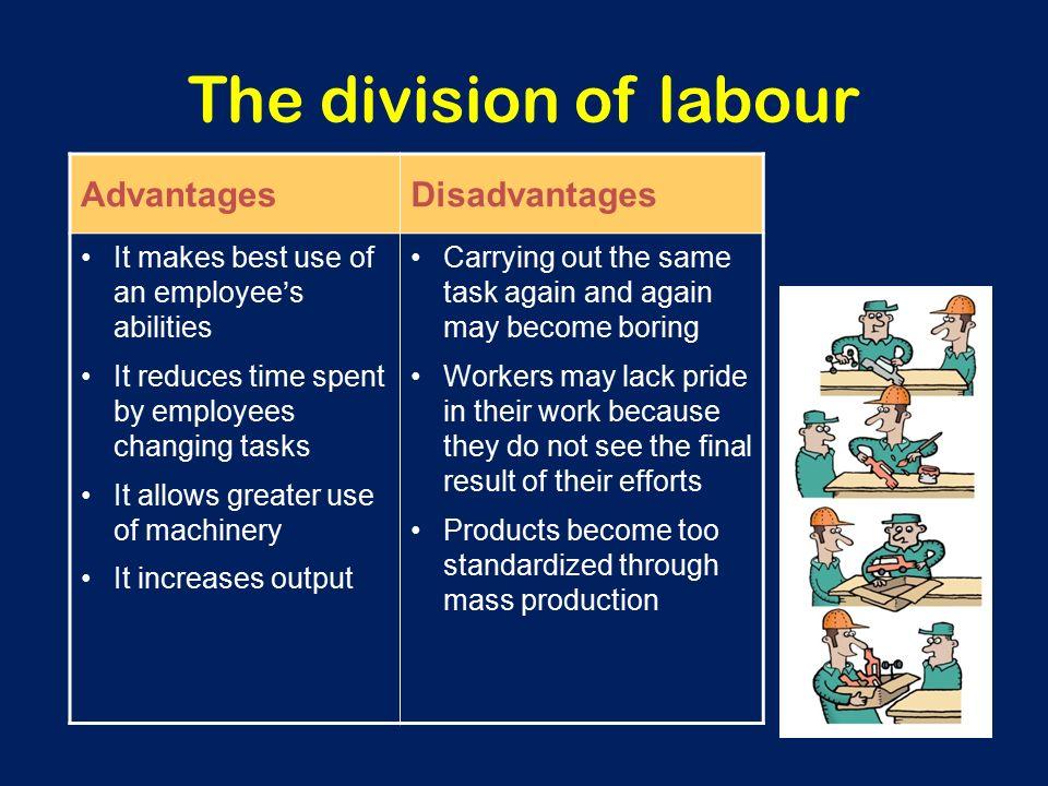 advantages of division of labour pdf
